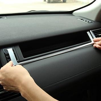 ABS copiloto - Marco embellecedor para Discovery Sport 2015 2016 2017 coche accesorios para izquierda mango disco: Amazon.es: Coche y moto