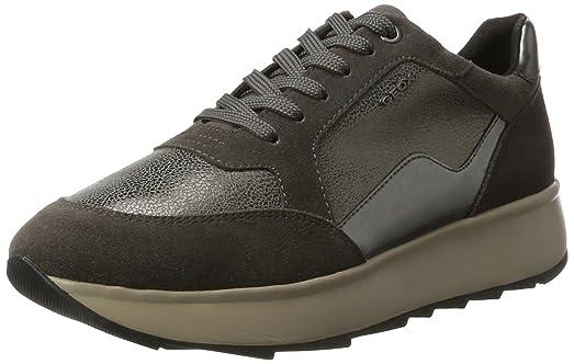 D Gendry B, Zapatillas para Mujer, Gris (Dk Grey), 40 EU Geox