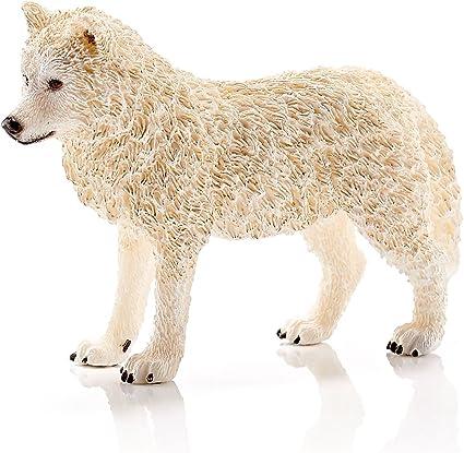 Plastic Figure World of Nature - Wild Life SCHLEICH 14742 Arctic Wolf