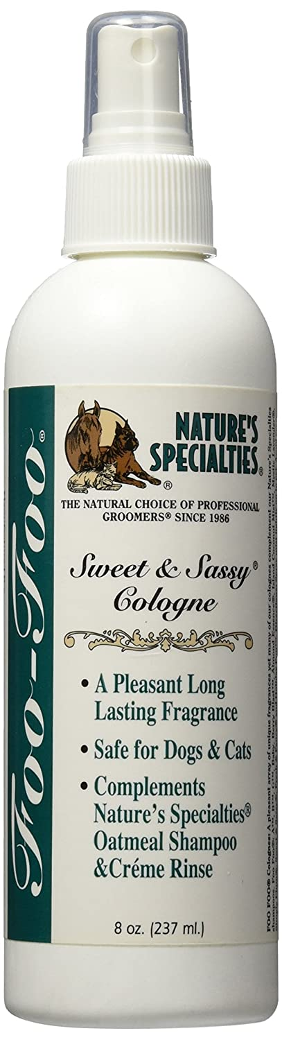 Nature's Specialties Foo Foo Sweet and Sassy Pet Cologne 8-Ounce