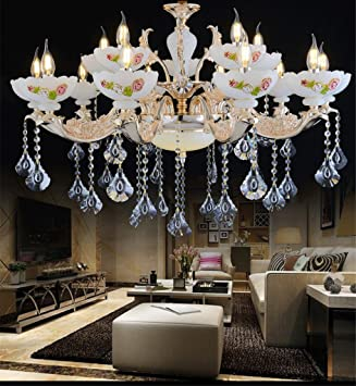 ZYY&LIGHT® LED Cristal Candelabro Vela Luces de Techo ...