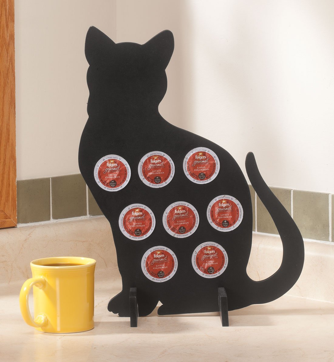 Food Storage Kitchen & Dining Aayla Novelty Cat Design for Coffee ...