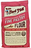 Bob's Red Mill Unbleached White Fine Pastry Flour, 5-pound