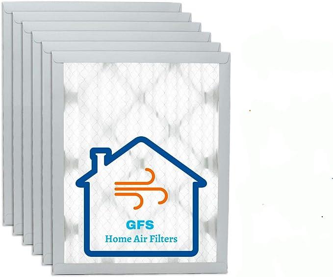 "GFS 16x25x1 MERV 11 Pleated Air AC Furnace Filters 15.75/""x24.75/""x0.75/"" Actual"