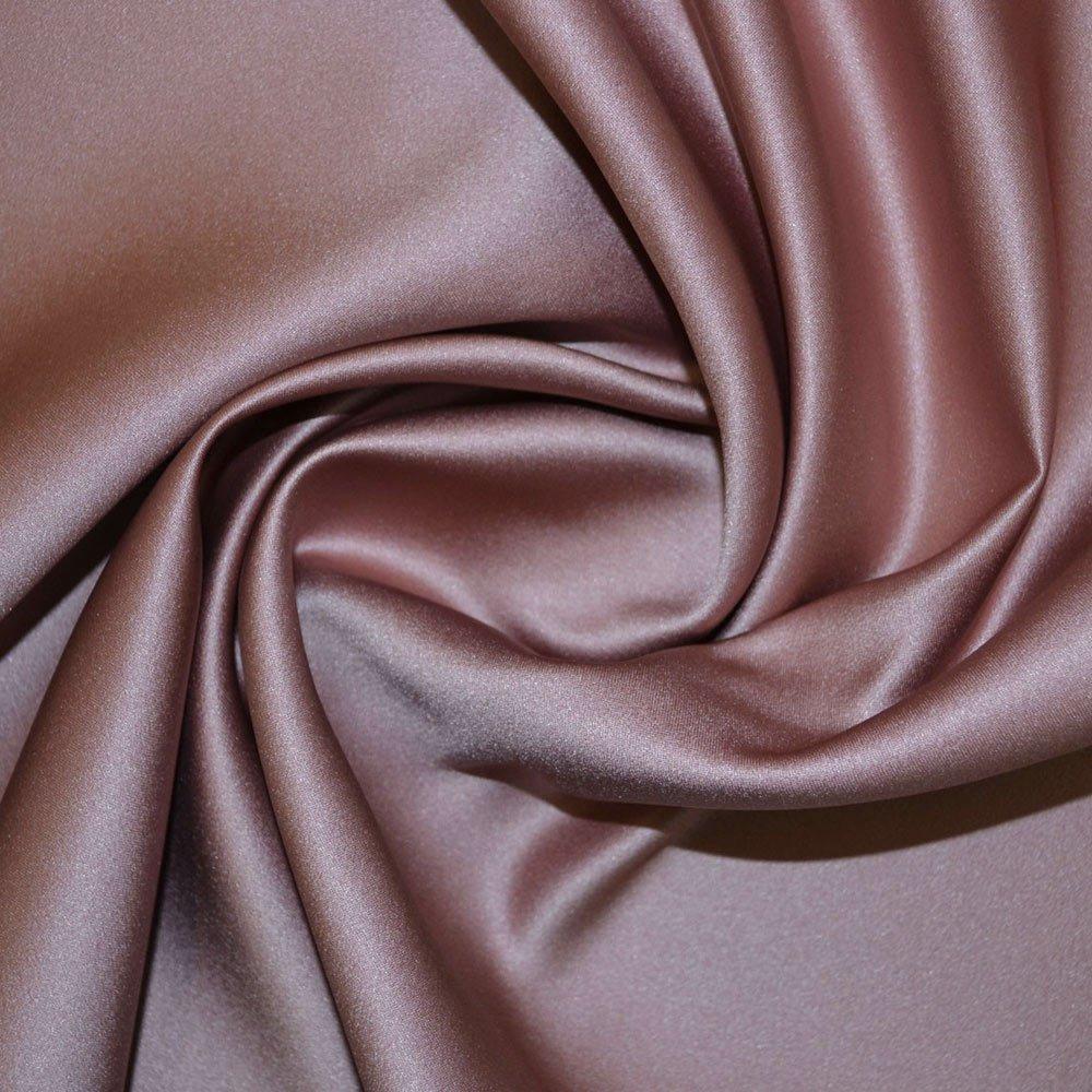 Dusky Pink Duchess Satin Fabric SKU000206