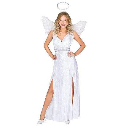 dressforfun Disfraz para mujer de ángel | vestido largo + ...