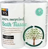 365 Everyday Value 100% Recycled Bath Tissue, 4 Count