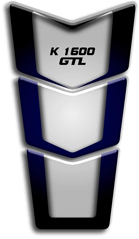 Motocicleta Gas Pantalla//Dep/ósito de Combustible de Goma Tankpad Pantalla adhesivo para B.M.W K 1600 GTL v3