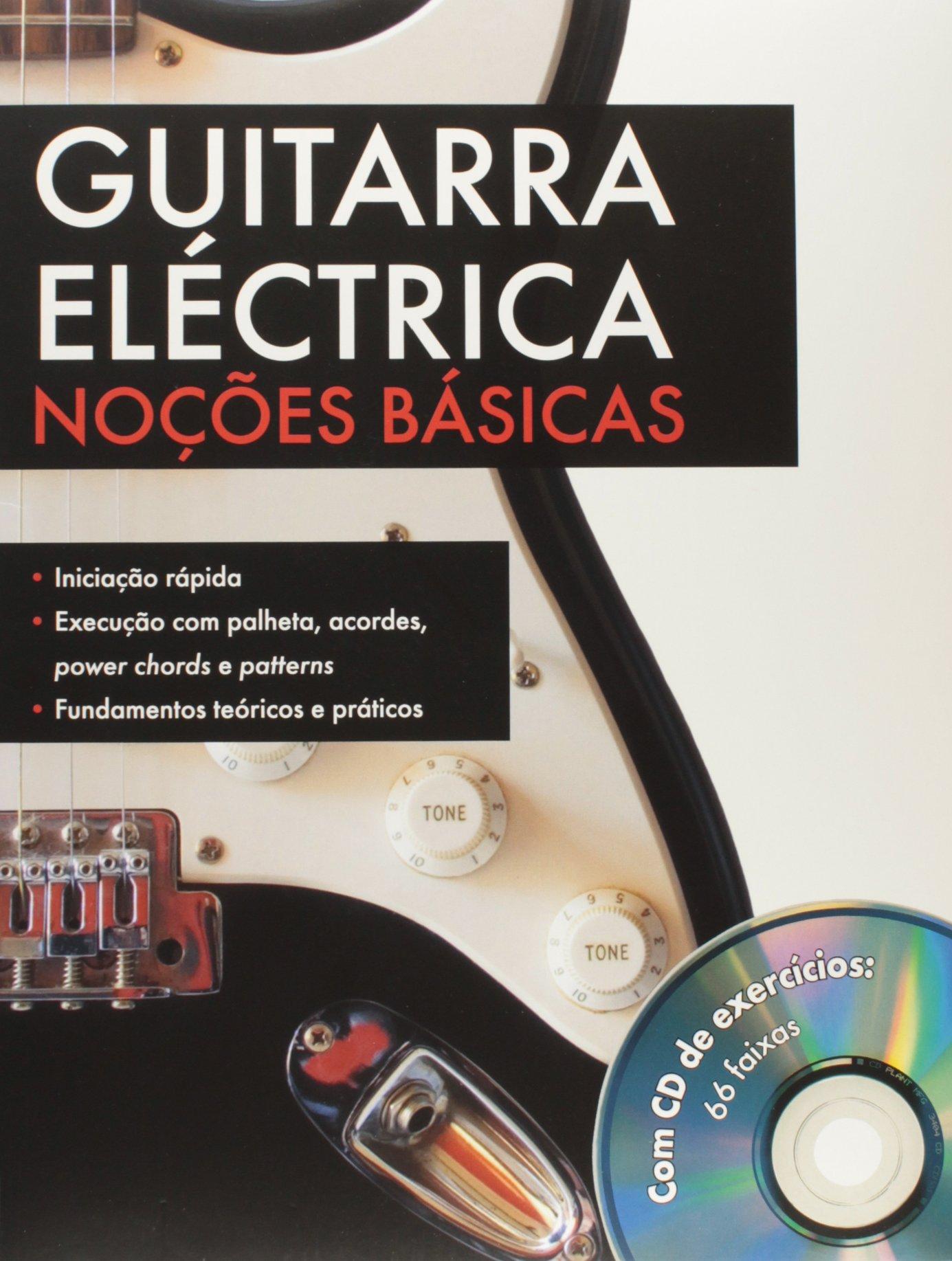 les bases de la guitare electrique (Portuguese) Paperback