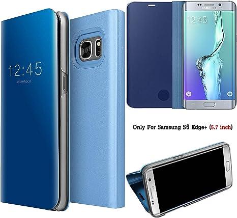 Guran® Mirror Efecto Espejo Funda para Samsung Galaxy S6 Edge+ ...