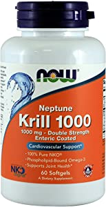 Now Foods Neptune Krill Oil 60 ct (Pack of 2)