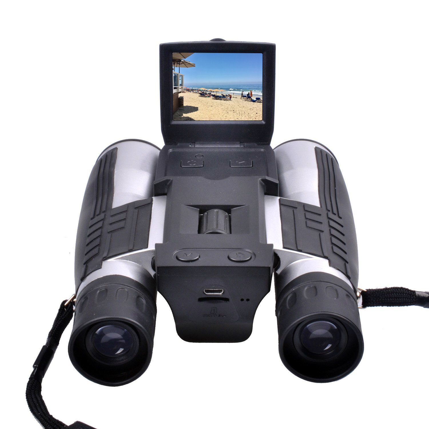CamKing FS608 720P Digital Camera Binoculars Camera with 2'' LCD Screen by CamKing
