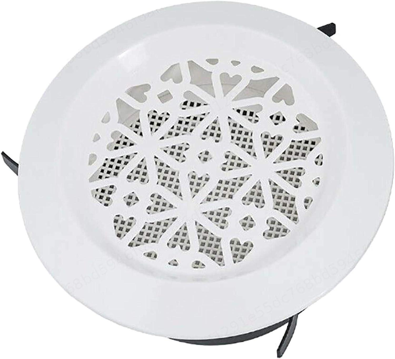 Insmart Grille de Sortie de Ventilation Couverture Ronde de lorifice d/échappement Couvercle de Ventilation