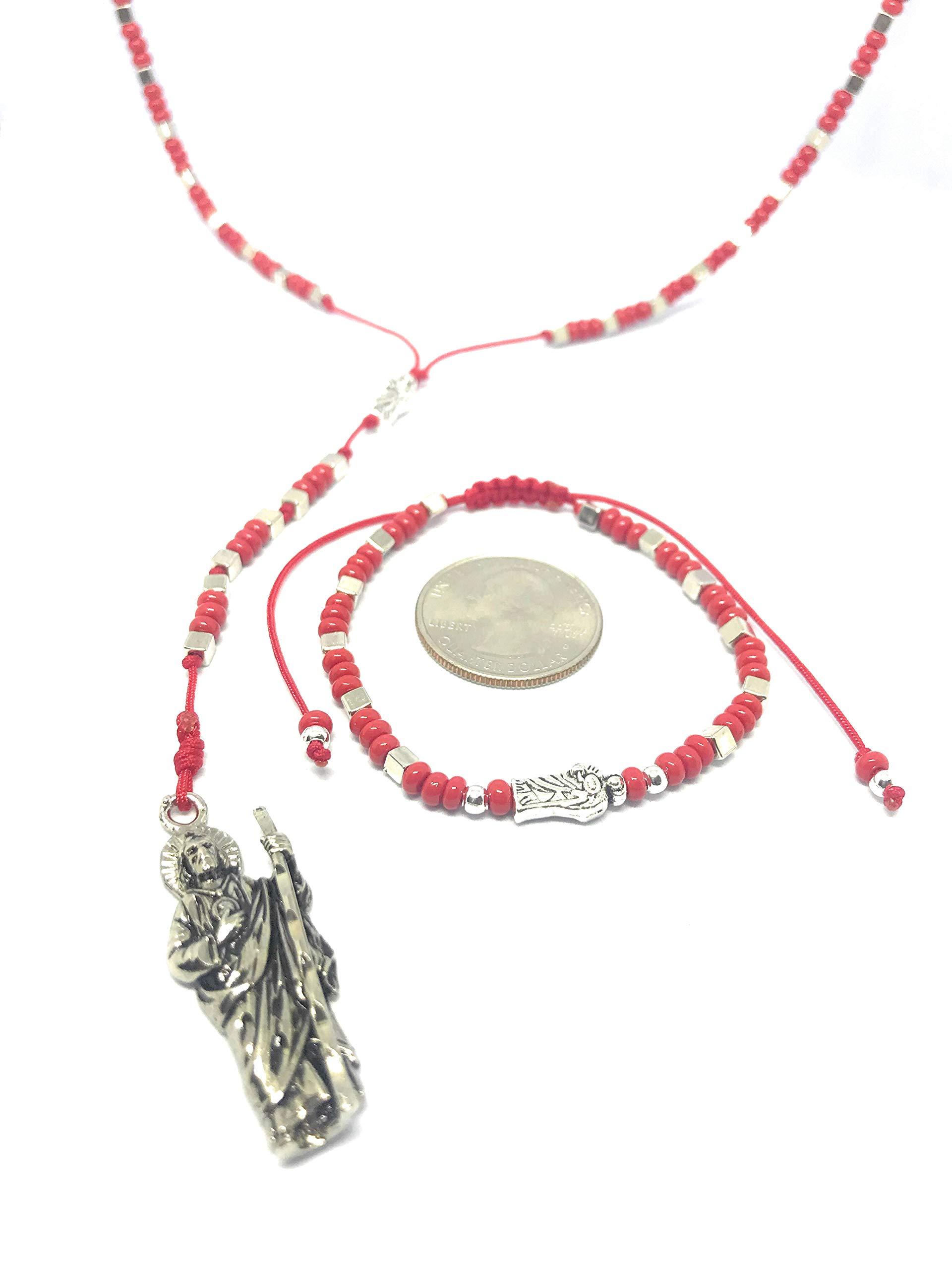 Chavarrieta San Judas Tadeo Rosary and Matching Bracelet.