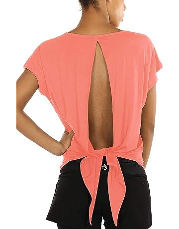 T Yoga Femme Et Shirts De Pilates Yfy7b6Igv