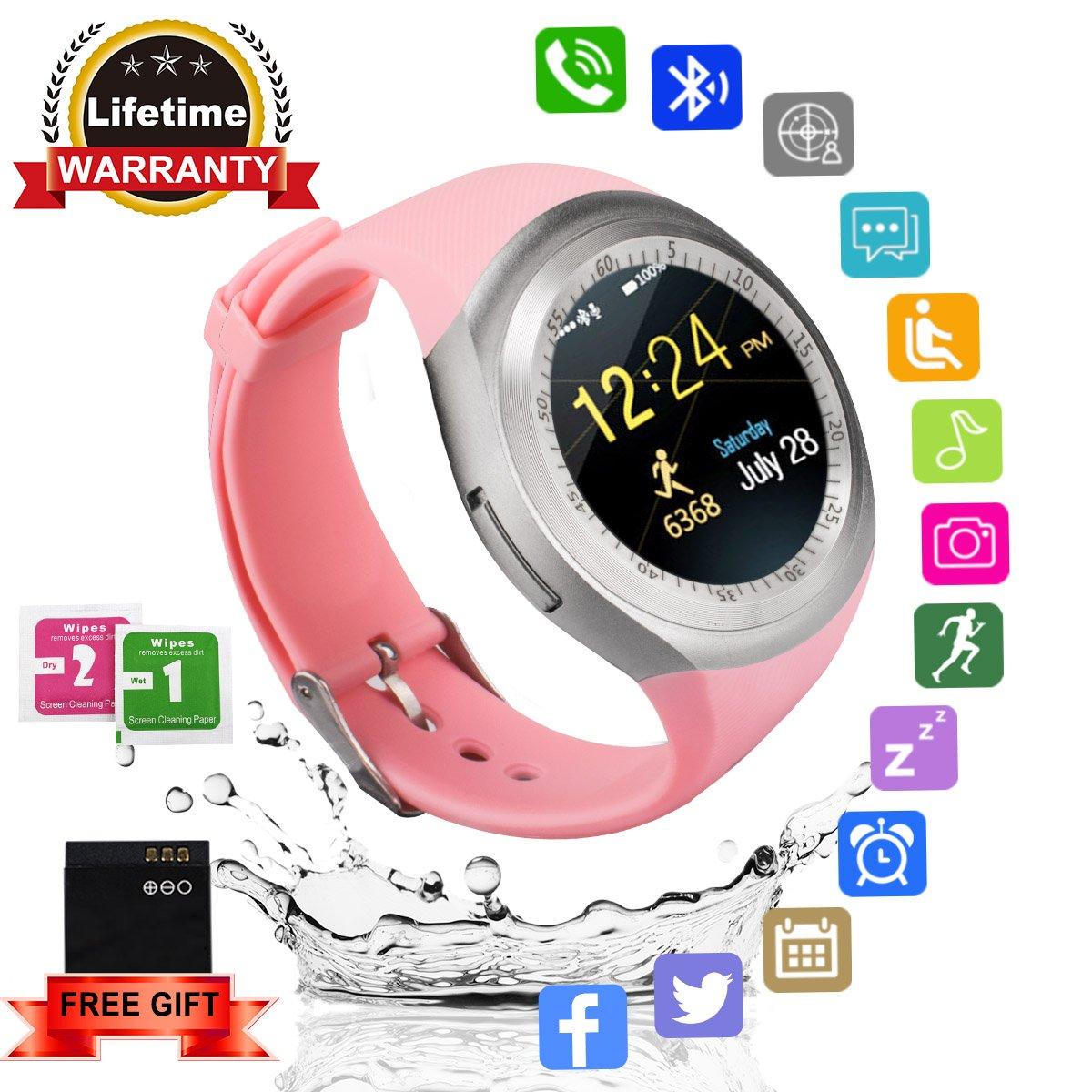 smartwatches pink: Amazon.es: Electrónica