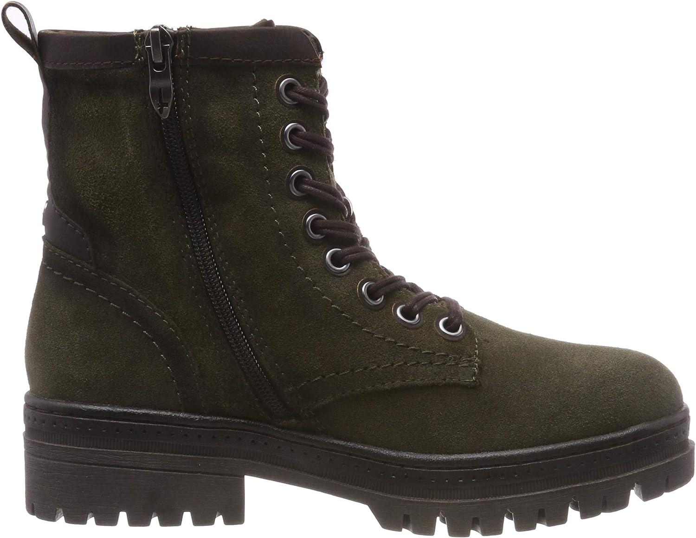 Tamaris Damen 26225 Combat Boots, Schwarz (Black 001), 41