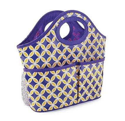 Amazon.com: Mud Pie Medallion Shower Caddy-Purple/Gold: Home & Kitchen
