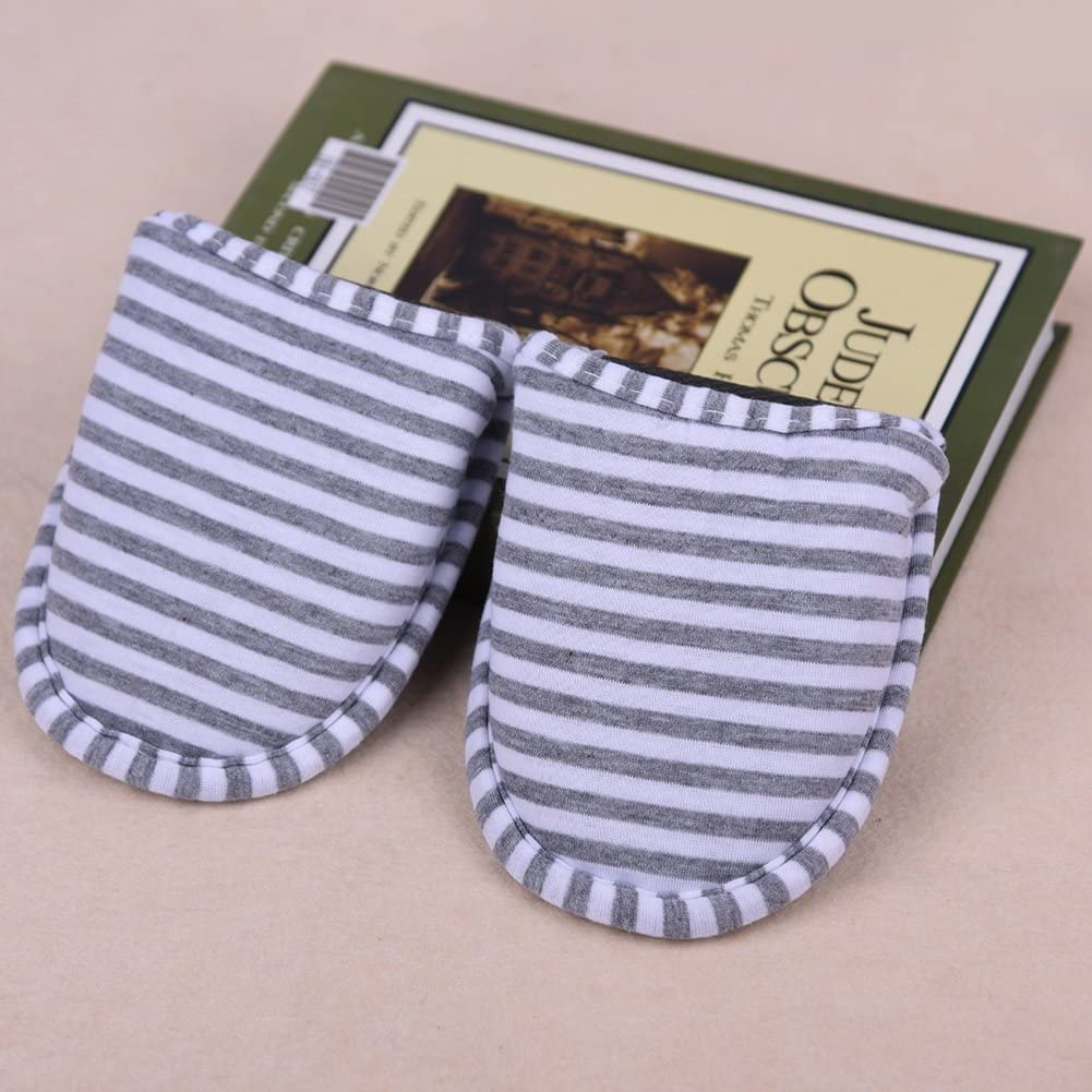 1par Zapatillas Plegables Antideslizantes con Bolsa de Almacenamiento para Viaje Casa Hotel Vuelo Indoor Exterior Talla 34-42EU