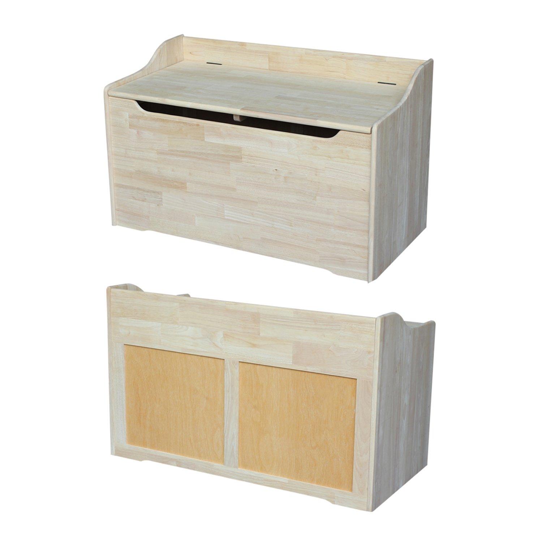 International Concepts Unfinished Storage Box, 38(W) x 419(L) x 23(H) by International Concepts (Image #3)