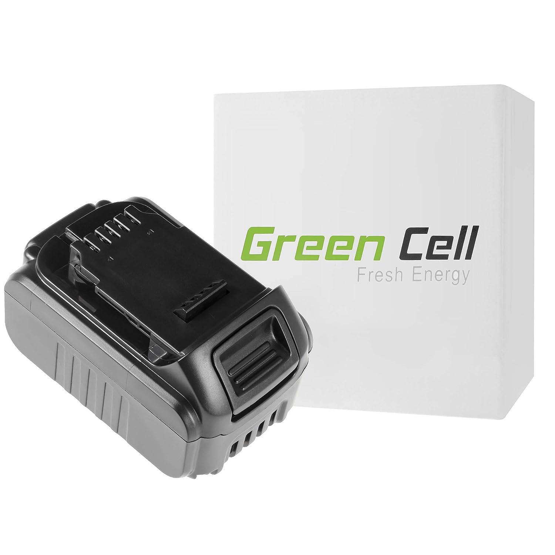 verde Cell® Utensili Elettrici Batteria per DeWalt DCS331L2 (Panasonic Li-Ion celle 5 Ah 18V)