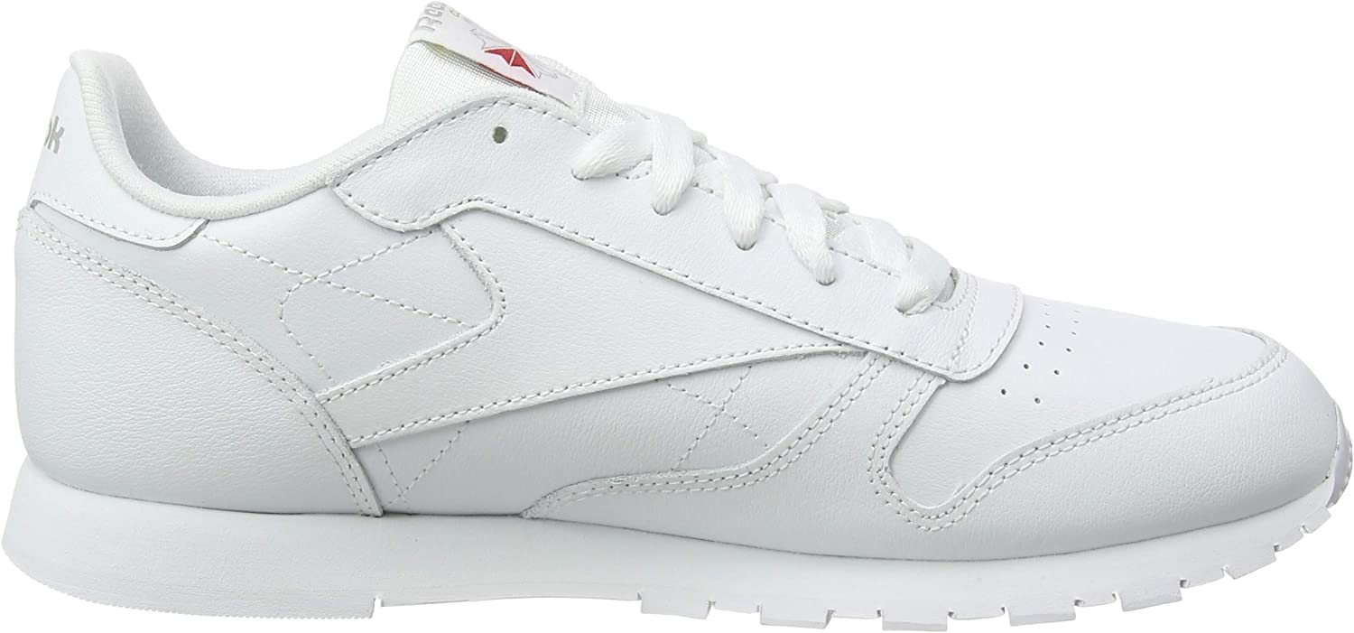 Reebok Classic Leather, Sneakers Basses Mixte bébé Multicolore White 50192