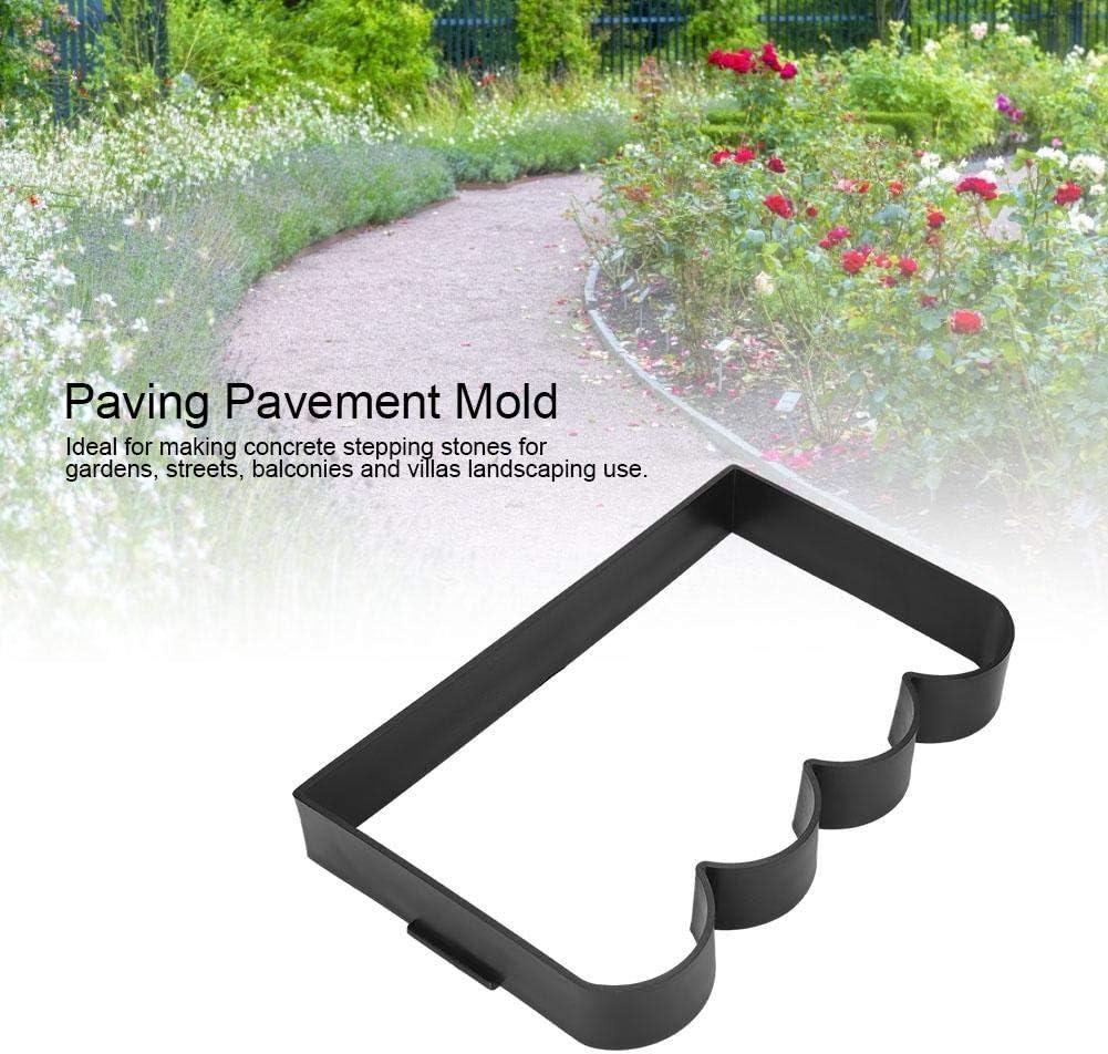 Molde de pavimentaci/ón Piedra bricolaje Pavimento de pavimento de pavimento for c/ésped de jard/ín