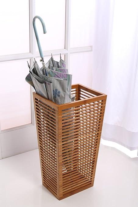 Beau Rustic Open Slats Entry Way Umbrella And Walking Canes Storage 8.5u0026quot; X  10.4u0026quot;