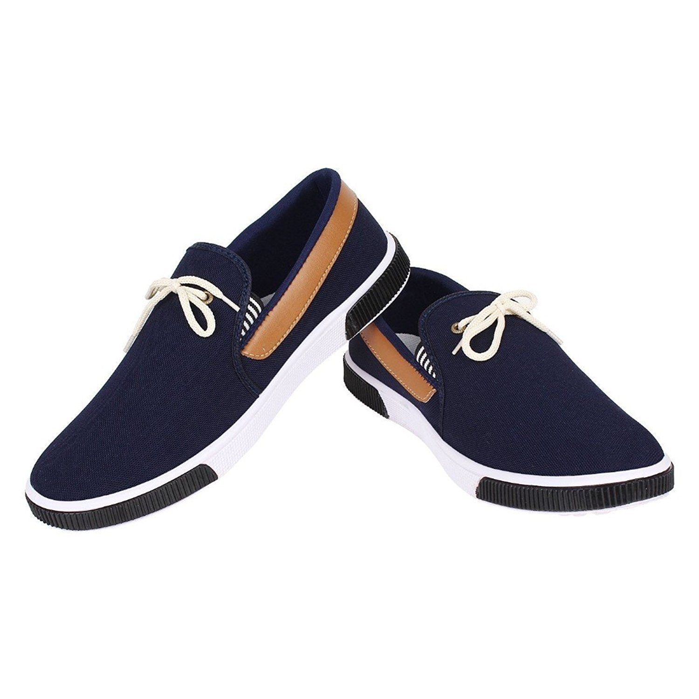 Birde Men's Canvas Loafers  (Price start with  ₹255.00 - ₹379.00 )