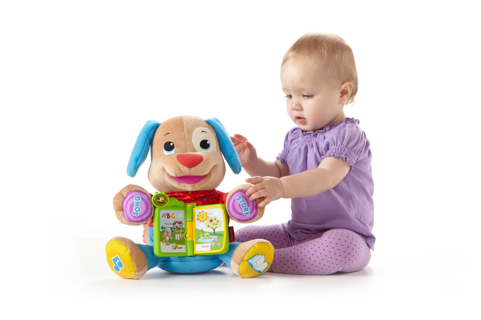 Fisher-Price Laugh & Learn Singin' Storytime Puppy by Fisher-Price (Image #2)