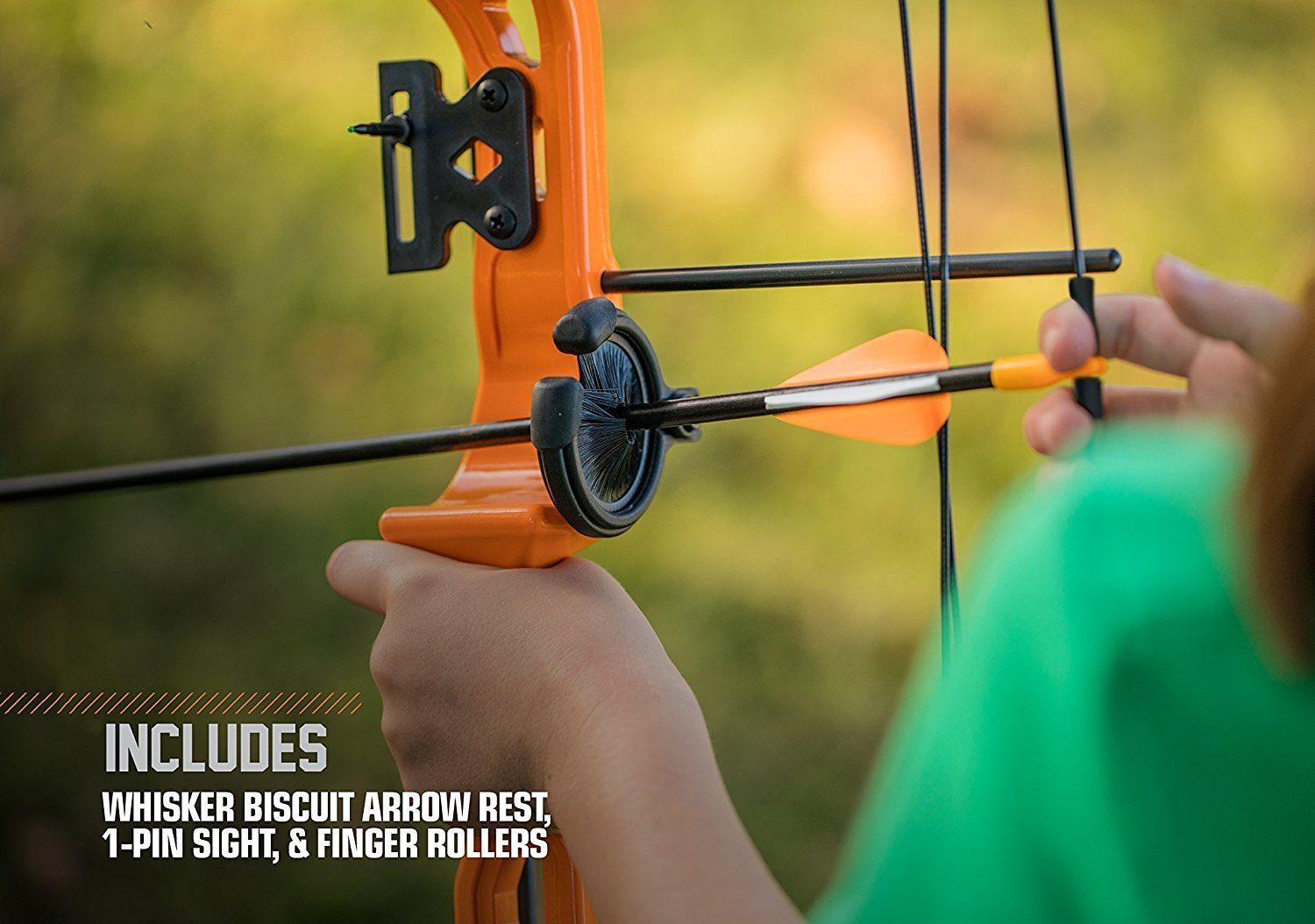 By-Ear Archery Compound Bow, Brave Youth Set Girls Boys Compound Bow Kids, Black by By-Ear Archery (Image #2)