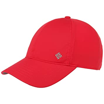 Columbia W Coolhead Gorra, Mujer, Red Camellia, Talla única