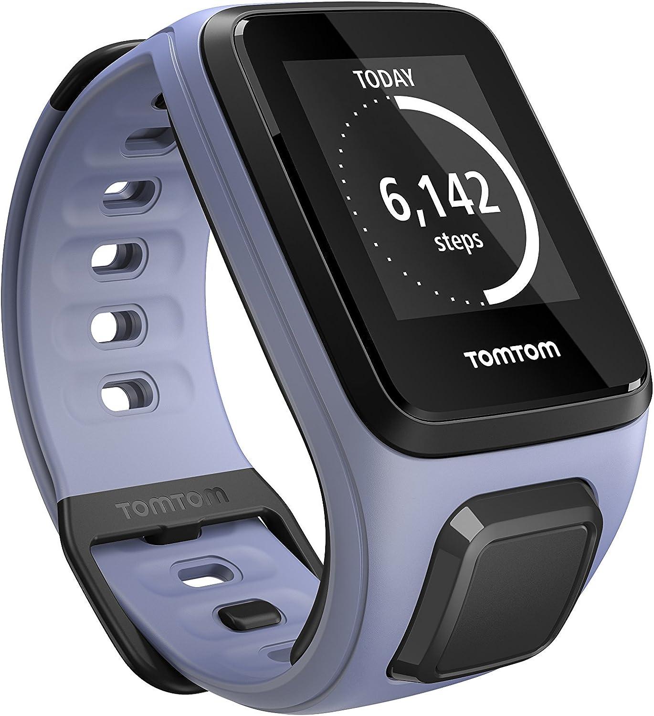 Tomtom Spark Color - Reloj deportivo, color morado calina, talla S