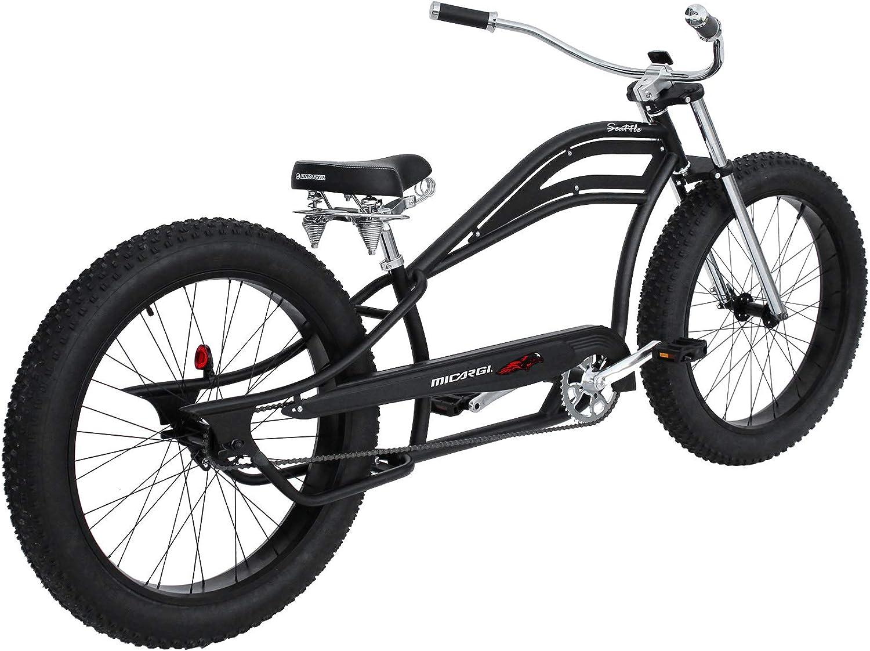 "Chrome 26/"" Cruiser Bike Tube FORK 1/"" Vintage Chopper Bicycle BMX Beach Lowrider"