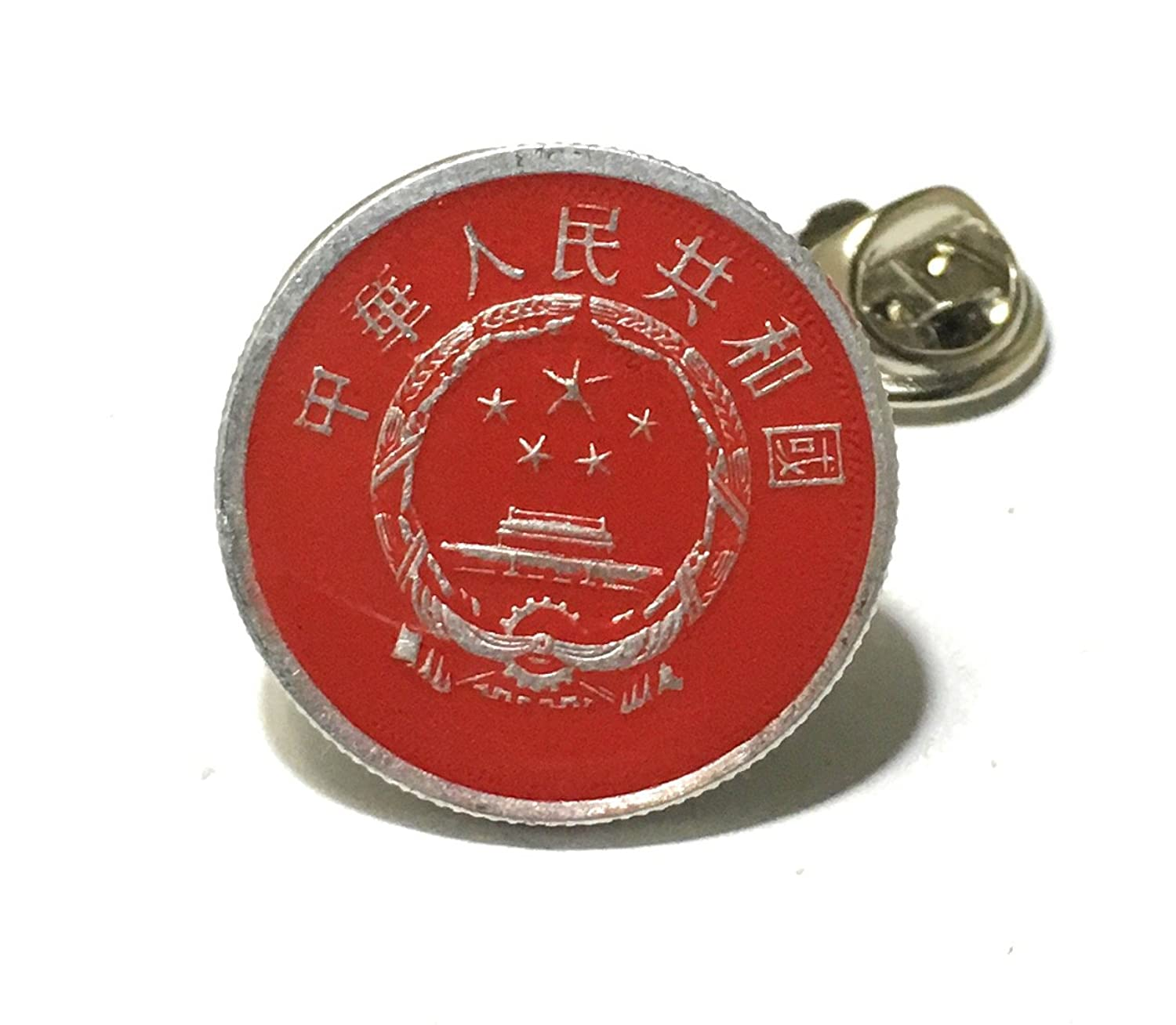 Amazon China Tie Tack Lapel Pin Suit Chinese Japan Coin Money