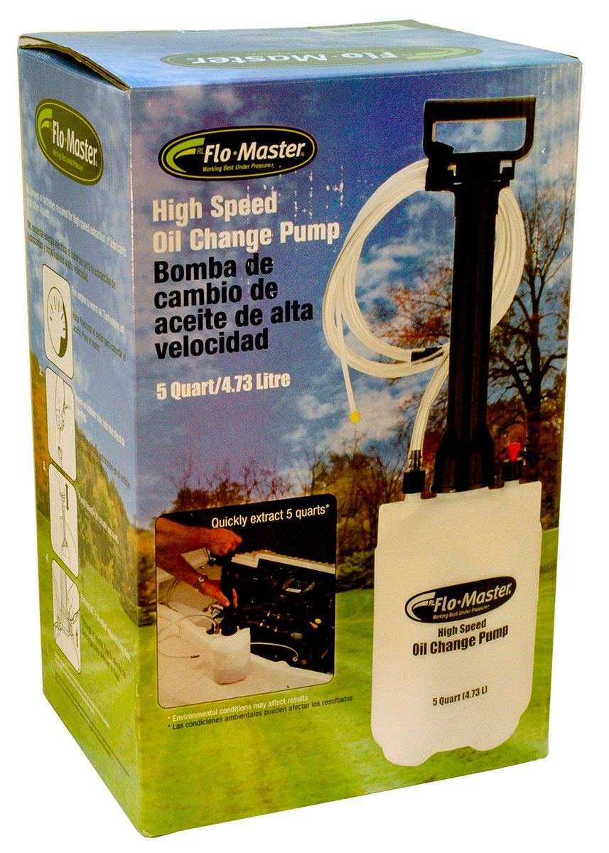 Amazon.com : MaxPower 13395 Flomaster High Speed Oil Change Pump, 5 quart : Garden & Outdoor