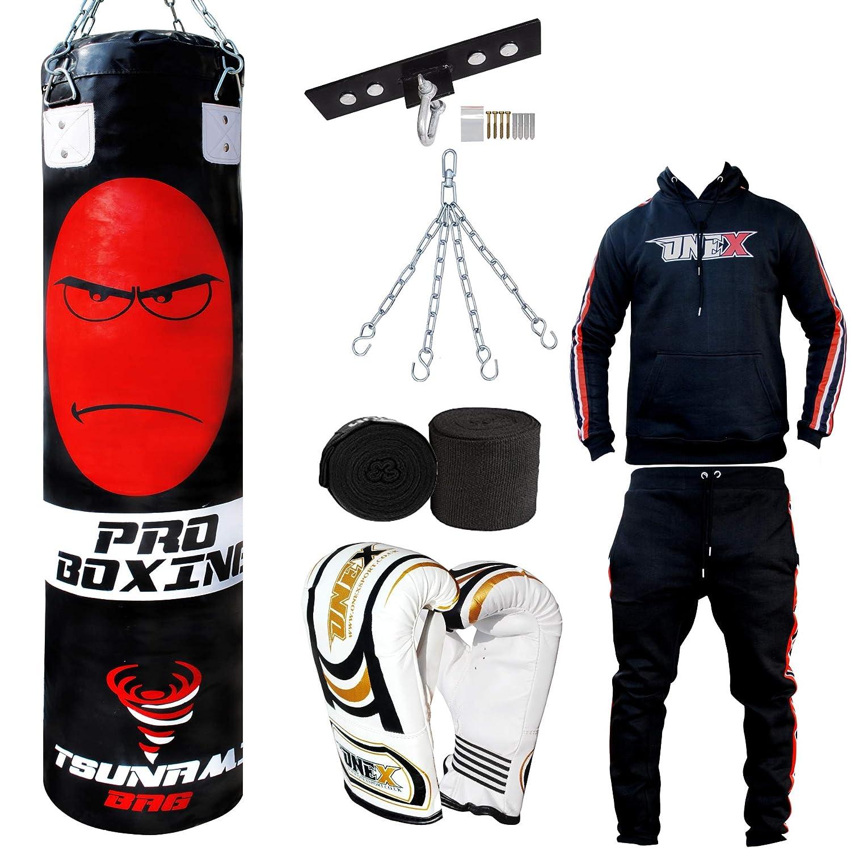 Onex Sunami - Juego de Saco de Boxeo y Guantes de Boxeo (1,5 m ...