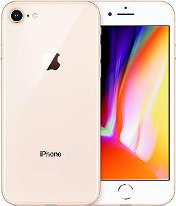 (Renewed) Apple iPhone 8, Fully Unlocked, 256GB - Gold