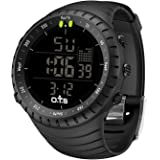 PALADA Men's T7005G Outdoor Waterproof Sports Quartz Digital Wrist Watches with LED Backlight