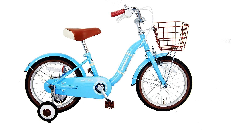 補助輪付き 子ども用 キッズ 自転車 ARCHNESS 16 / 18S 16インチ ライトブルー B07L4L6R12