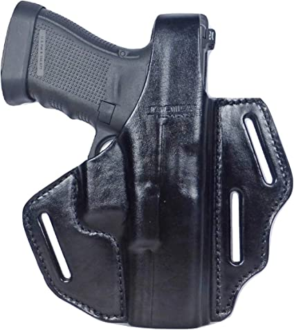 Fits Taurus G3 Tactical Scorpion Gear 3 Slot Thumb Break OWB Leather Holster