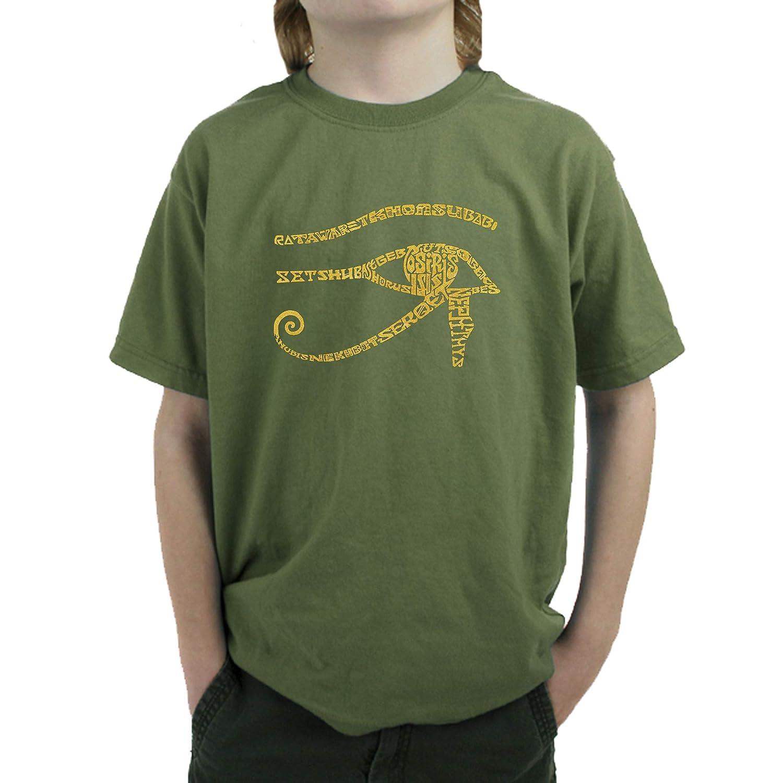 Egypt LA Pop Art Boys Word Art T-Shirt