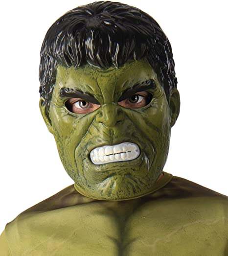 COOLMP – Lote de 12 máscaras de PVC Hulk para niños, Talla única ...