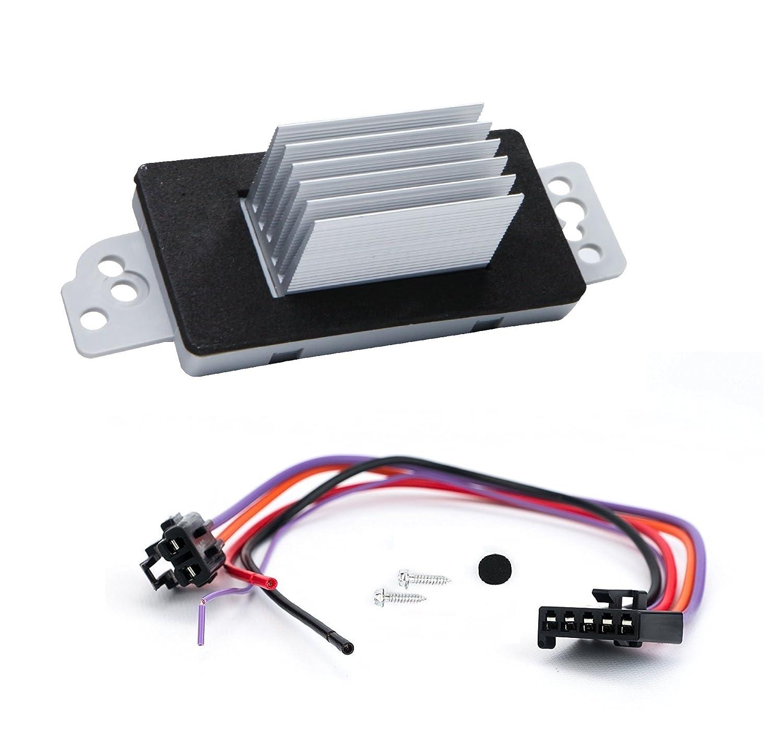 A-Premium HVAC A//C Blower Motor Resistor for Chevrolet Impala Monte Carlo Venture Oldsmobile Buick Pontiac Manual Temperature Control