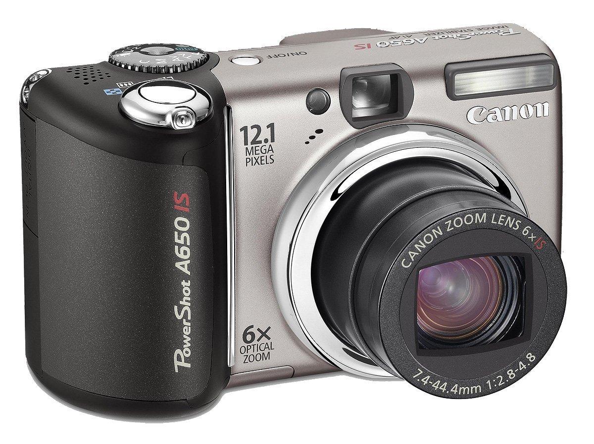 Canon PowerShot A650 IS - Cámara Digital Compacta 12.1 MP: Amazon ...