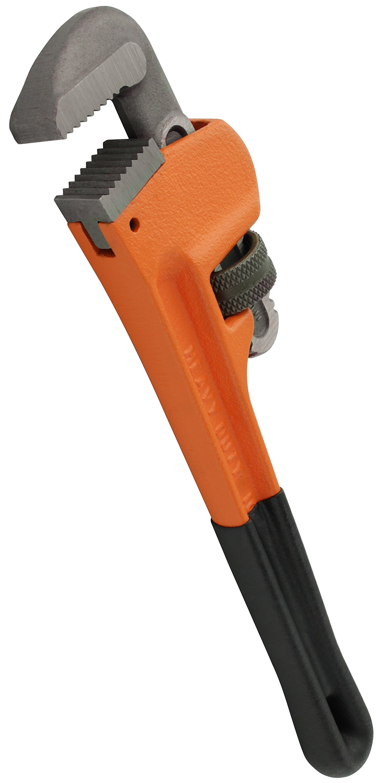 Drixet Heavy Duty 10'' Pipe Wrench | General Purpose Industrial Tool Made of Drop Forged Heat Treated Steel Jaws & Nuts