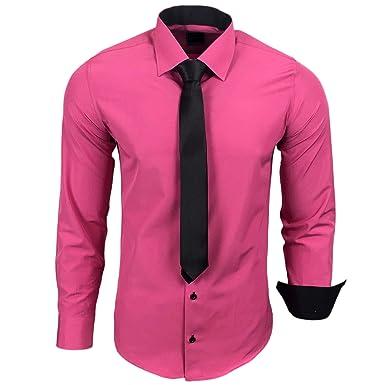 Camisa de la marca Rusty Neal R-44-KR, con corbata. Ideal para ...