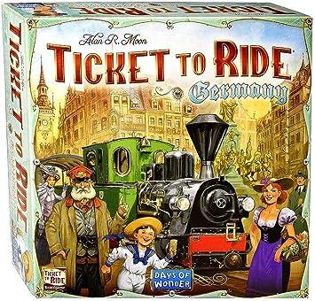 Days of Wonder Ticket to Ride Europe. Juego de Mesa de Estrategia sobre ferrocarriles (en inglés): Amazon.es: Juguetes y juegos