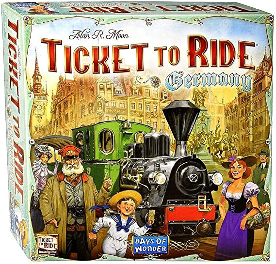 Days of Wonder Ticket to Ride Europe. Juego de Mesa de Estrategia sobre ferrocarriles (en inglés): Amazon.es: Juguetes y juegos