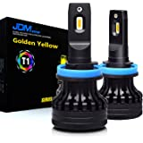 JDM ASTAR T1 High Power H11 H9 H8 All-in-One Gold Yellow LED Bulbs